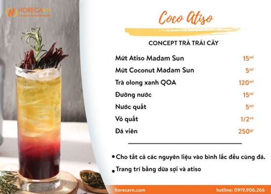 Công Thức Coco Atiso