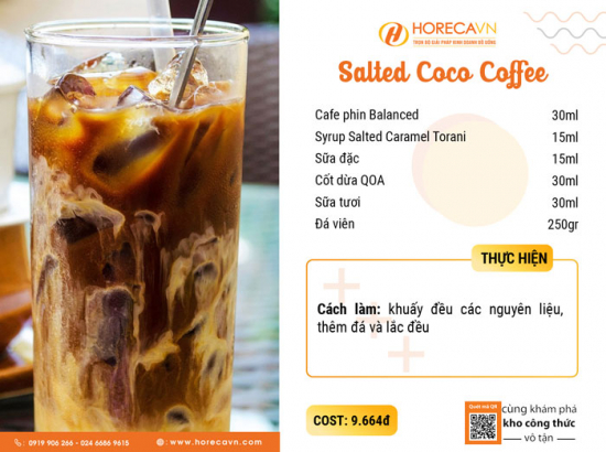 Công Thức Salted Coco Cafe