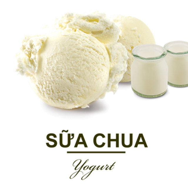 Kem Teamo Sữa Chua 3000ml - Teamo Yogurt Ice Cream