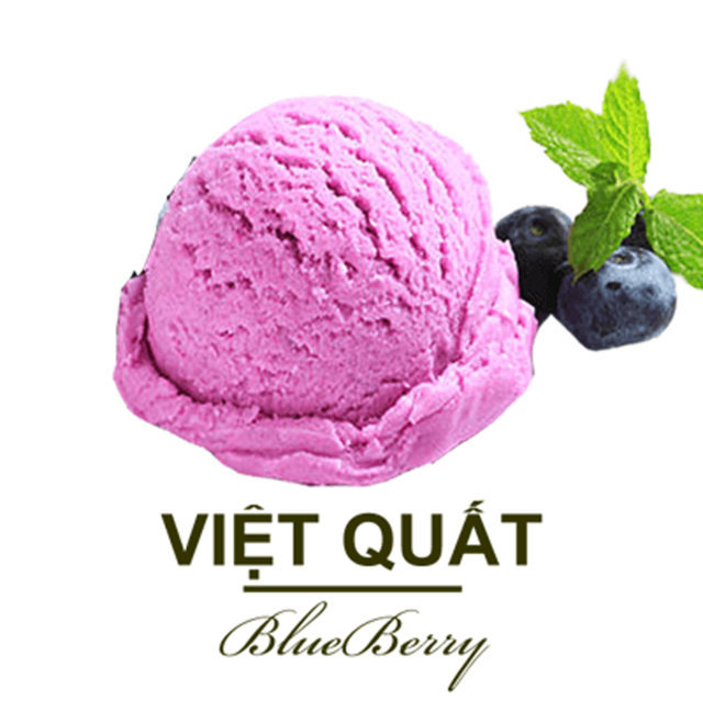 Kem Teamo Việt Quất 3000ml - Teamo Blueberry Ice Cream