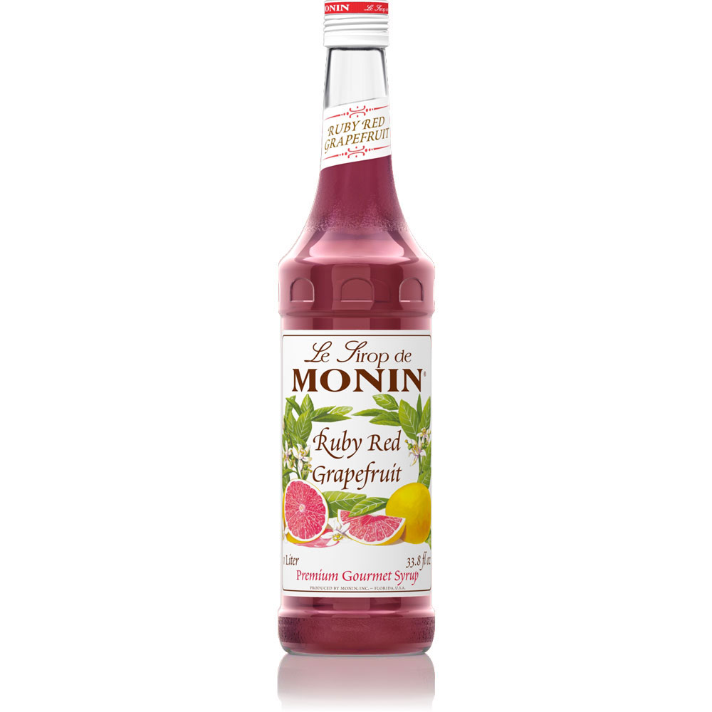 Siro Monin Bưởi Hồng 700ml - Monin Ruby Red Grapefruit Syrup