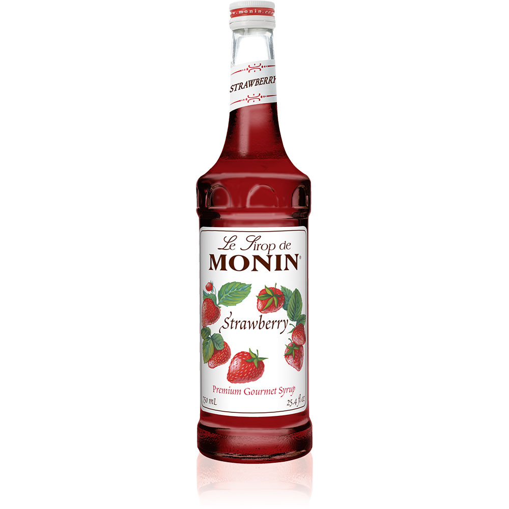 Siro Monin Dâu 1000ml - Monin Strawberry Syrup