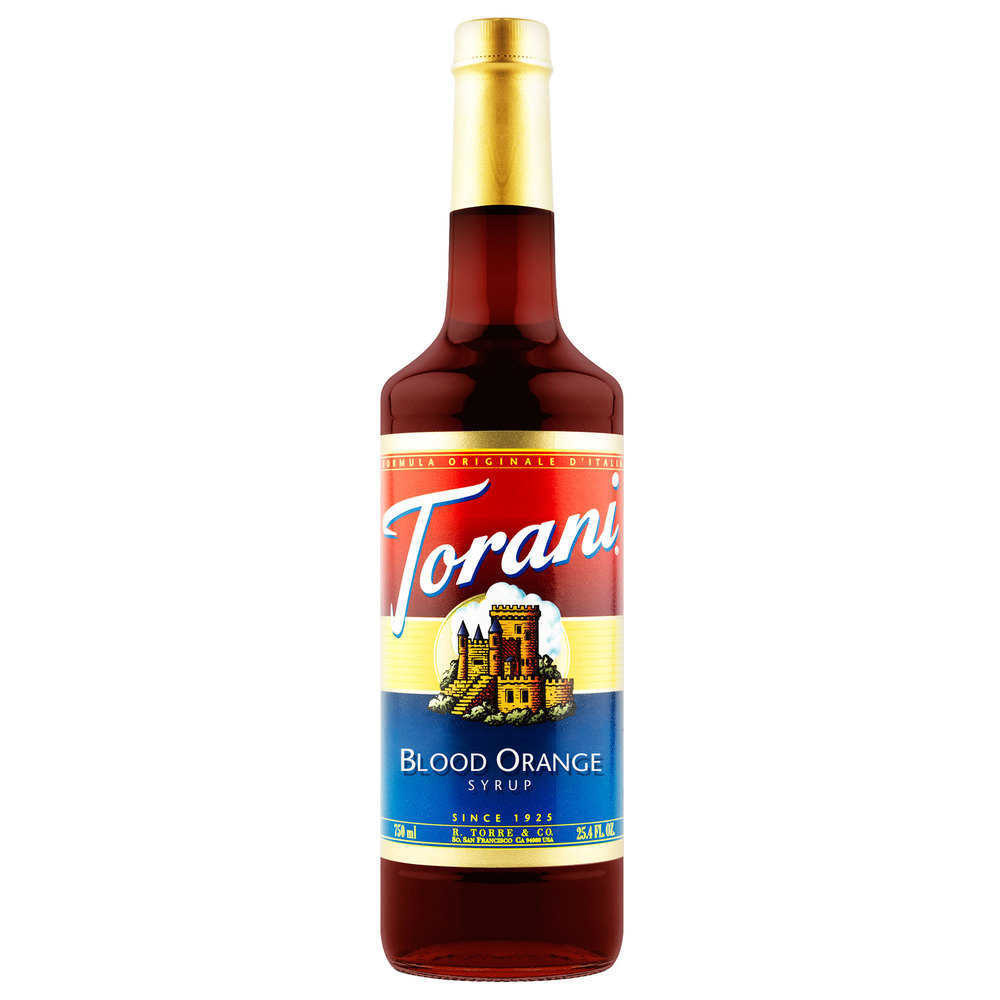 Siro Torani Cam Đỏ 750ml - Torani Blood Orange Syrup
