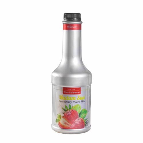 Mứt Trái Cây Madam Sun Dâu 1000ml - Puree Madam Sun Strawberry